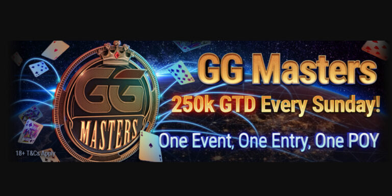 GG masters banner