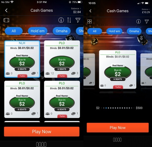 partypoker mobile apps